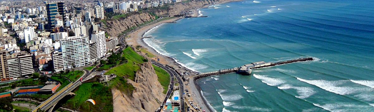 Lima Peru Miraflores City from above.jpg