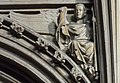 Lincoln Cathedral, Angel with a spear (32142987061).jpg