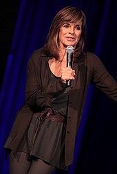 Gray speaking at the 2014 Arizona Ultimate Women's Expo