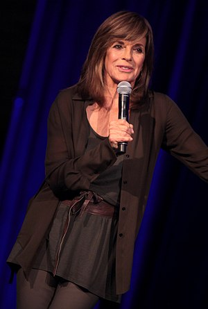 Linda Gray - Gray speaking at the 2014 Arizona Ultimate Women's Expo