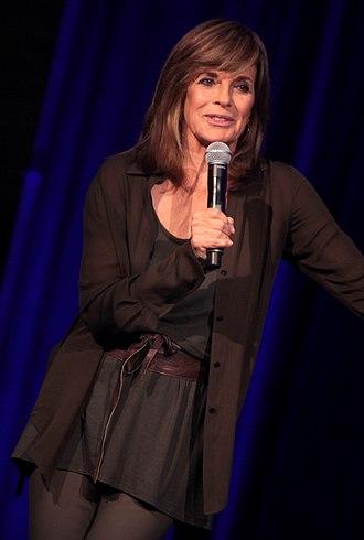 Linda Gray - Gray speaking at the 2014 Arizona Ultimate Women's Expo