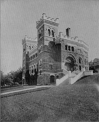 Asa Packer - Image: Linderman Library 1896