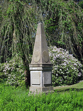 monument ter ere van o.a. Albrecht Wilhelm Roth