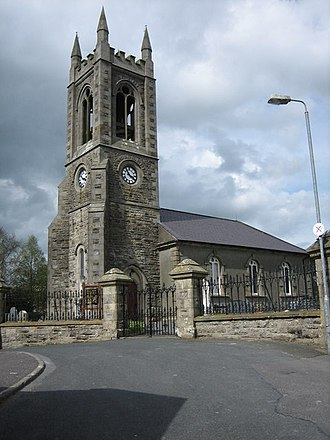 Lisbellaw - Image: Lisbellaw Parish Church geograph.org.uk 167631