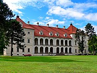 Lithuania Birże Radziwiłł Castle.jpg