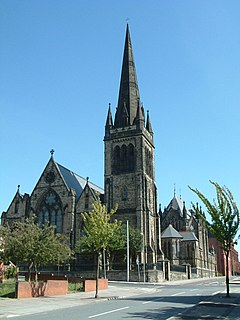 St Francis Xavier Church, Liverpool Church in Liverpool, England