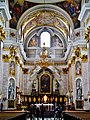 Ljubljana Kathedrale St. Nikolaus Innen Chor 4.JPG