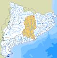 Llobregat (Rius-Embassaments-ZonesHumides-Estanys blau).png