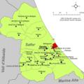 Localització de Daimús respecte de la Safor.png
