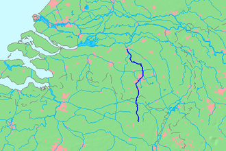 Dommel - Location map of the Dommel.