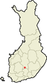 Location of Luhanka in Finland.png