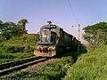Locomotiva de comboio que passava sentido Boa Vista na Variante Boa Vista-Guaianã km 205 em Salto - panoramio.jpg