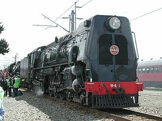 NZR KA class - KA 942 at the North Island Main Trunk centenary, 2008.