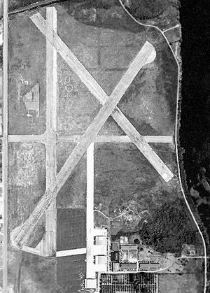 Lodwick Field - 1952 airphoto
