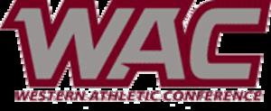 Western Athletic Conference Baseball Tournament - Image: Logo WAC