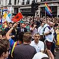 London Mayor Sadiq Khan at London Gay Pride 2017 (35804590745).jpg
