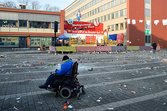 Loneliness of the wheelchair boy after the carnival party.jpg
