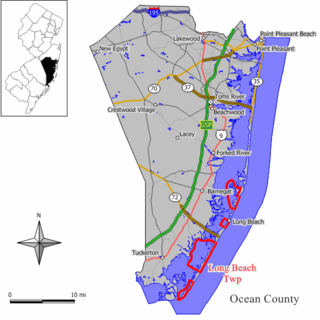 Long Beach Township, New Jersey Township in New Jersey, United States