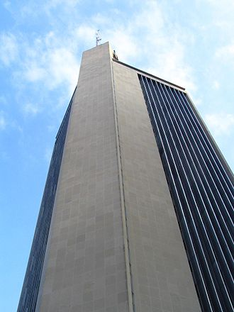 Life & Casualty Tower - Image: Looking up at the L&C, Nashville, TN