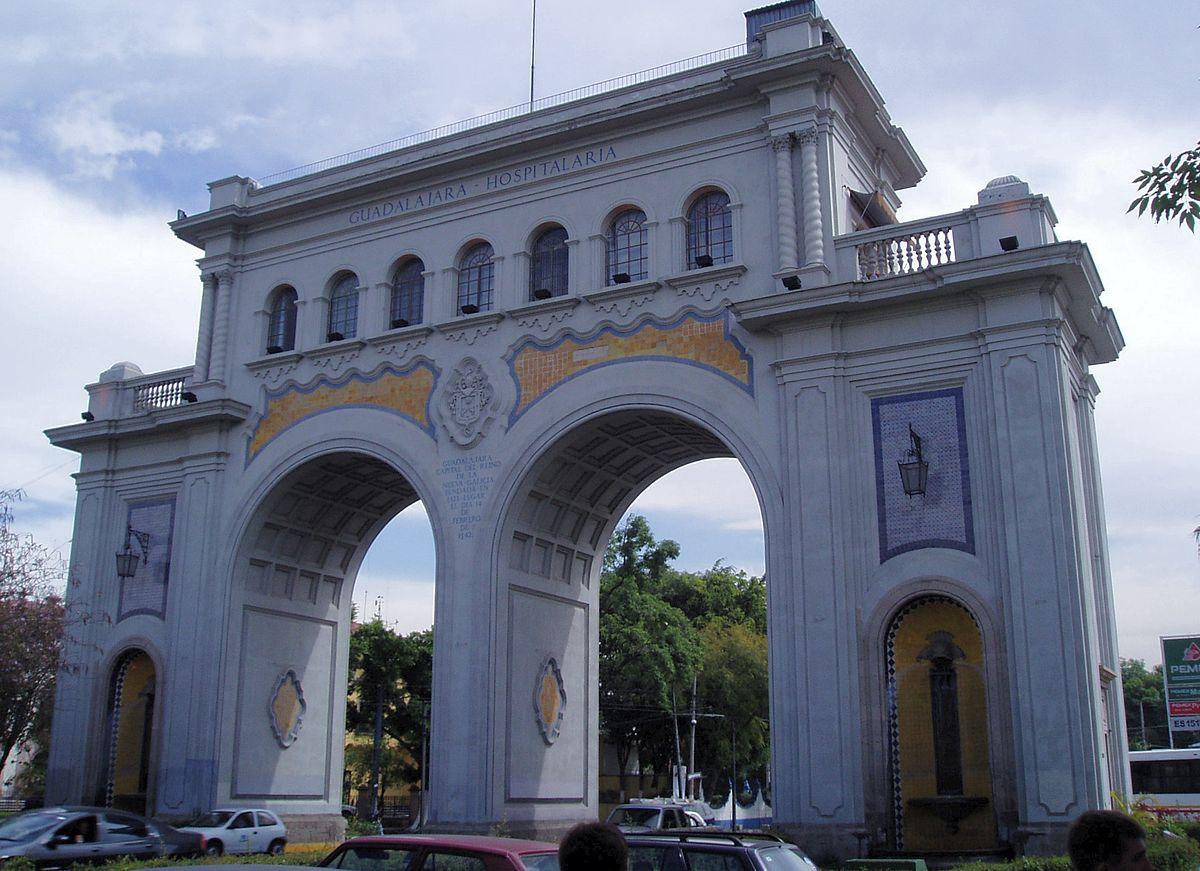 Arcos de Guadalajara, de los monumentos más famosos de Guadalajara