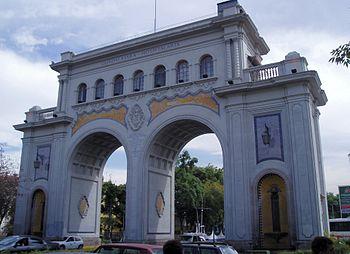 Los Arcos de Guadalajara.