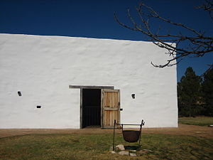 Zapata County, Texas - Image: Los Corralitos Building at National Ranching Heritage Center IMG 0062
