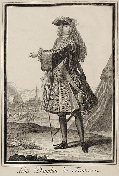 File:Louis, Dauphin de France (1661-1711) - Engraving 01.jpg