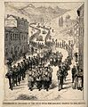 Lourdes, Haute Pyrénées, France; procession from the railway Wellcome V0012870.jpg