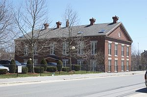 Colburn School (Lowell, Massachusetts) - Image: Lowell MA Colburn School