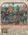 Loyset Liédet (Flemish, active about 1448 - 1478) - The Battle before Roussillon's Castle - Google Art Project.jpg