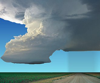Supercell - Idealized view of an LP supercell