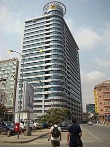 Edifício-sede da SONANGOL em Luanda