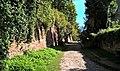 Lublin, Cmentarz żydowski (tzw. Grodzisko); mur od strony ul. Siennej II.jpg
