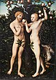 Lucas Cranach the Elder, Adam and Eve,1538 (Toronto).jpg
