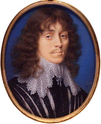 Great Tew - Miniature of Lucius Cary, 2nd Viscount Falkland