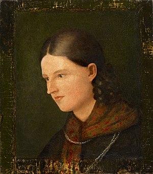 Ludwig Hassenpflug - Charlotte Amalie Hassenpflug, née Grimm (1818)