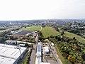 Luftbild aufgenommen in Richtung Gebäude der Naturwissenschaften der Justus-Liebig-Universität in Gießen - panoramio.jpg