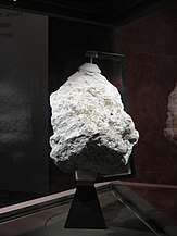 Lunar ferroan anorthosite rock from Apollo 16
