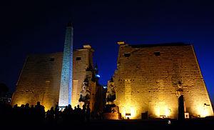 Templo de Luxor, exponente de la religión egipcia