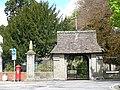 Lych Gate, St Cadoc's Church - geograph.org.uk - 786701.jpg