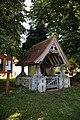 Lychgate of St Mary the Virgin's Church, Aythorpe Roding, Essex, England 1.jpg