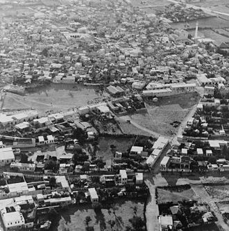 1948 Palestinian exodus from Lydda and Ramle - The city of Lydda in 1932