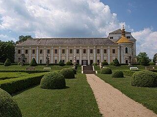 Lysá nad Labem Town in Central Bohemian, Czech Republic