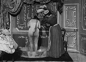 After the Ball (1897 film) - scene from the film