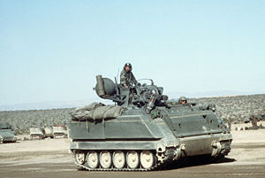 M163 in Fort Irwin, California, USA
