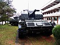 M52 105mm Self-propelled Howitzer at Tanks Park, Armor School 20130302.jpg