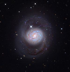 Messier 77 - Image: M77 Galaxy from the Mount Lemmon Sky Center Schulman Telescope courtesy Adam Block