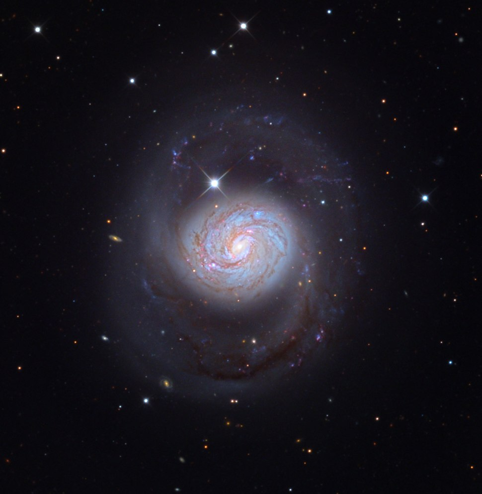 M77 Galaxy from the Mount Lemmon SkyCenter Schulman Telescope courtesy Adam Block