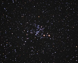 Messier 93 Open cluster in the constellation Puppis