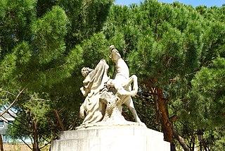 Escultura ecuestre alegórica II